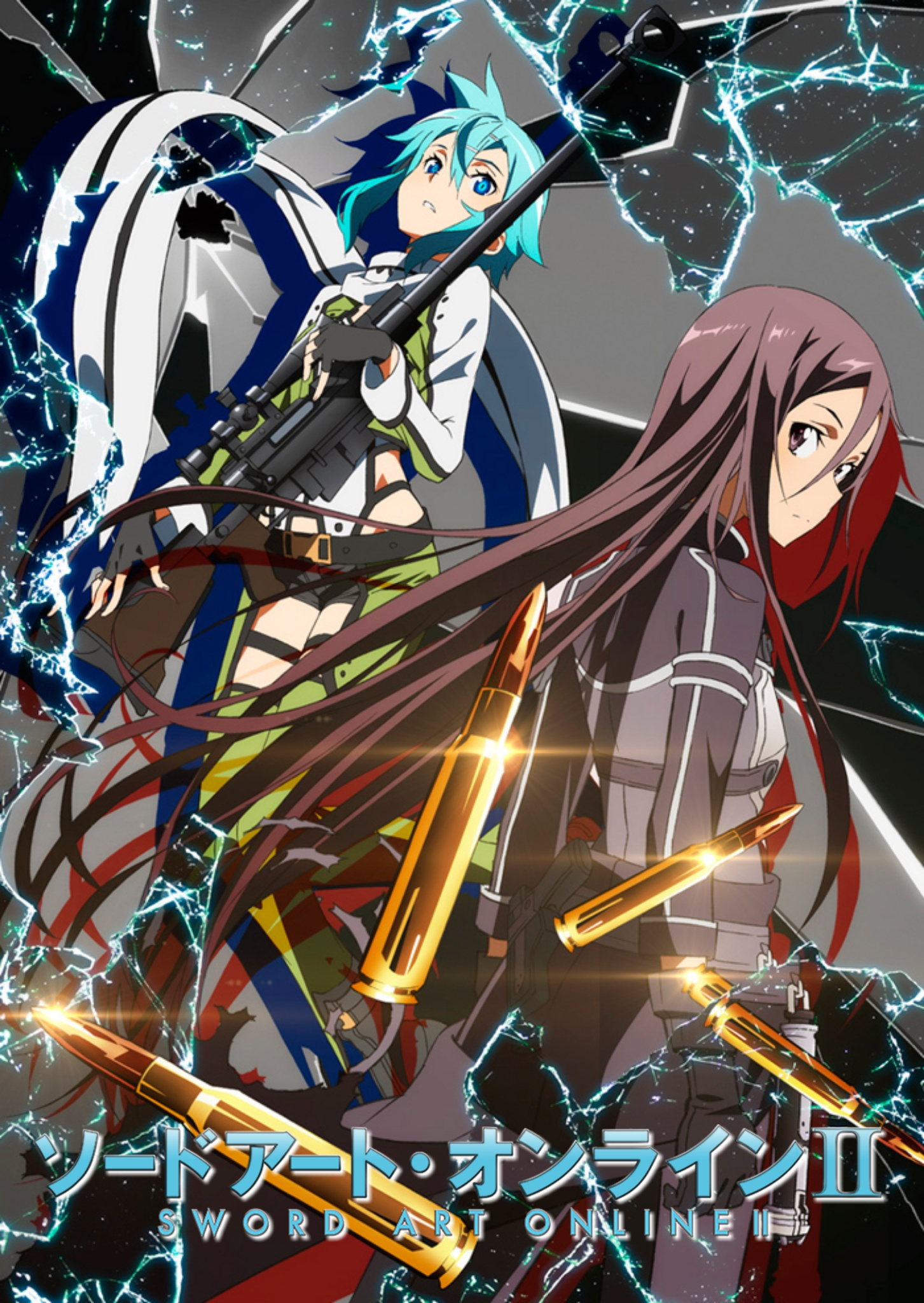 Sword Art Online II  | BDrip | Cast/Jap+Sub | 24/24| MKV-1080p | x264 Sword_Art_Online_II