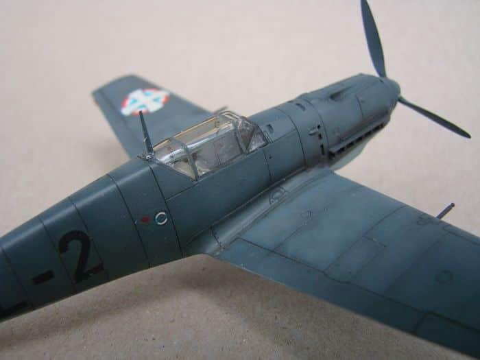 Bf-109E-3VVKJ, Tamiya, 1/72 DSC03073