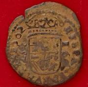 16 Maravedis Felipe IV Granada (Falsa de epoca) CIMG6140