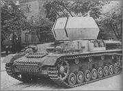 Немецкие ЗСУ на базе Panzer IV - Möbelwagen, Wirbelwind, Ostwind Avfpcn