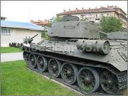Советский средний танк Т-34-85, производства завода № 112,  Военно-исторический музей, София, Болгария 34_85_052