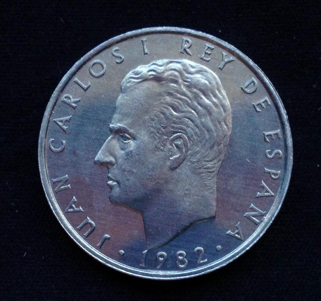 2 pesetas 1982 Juan Carlos I Lanzarote dedit Image