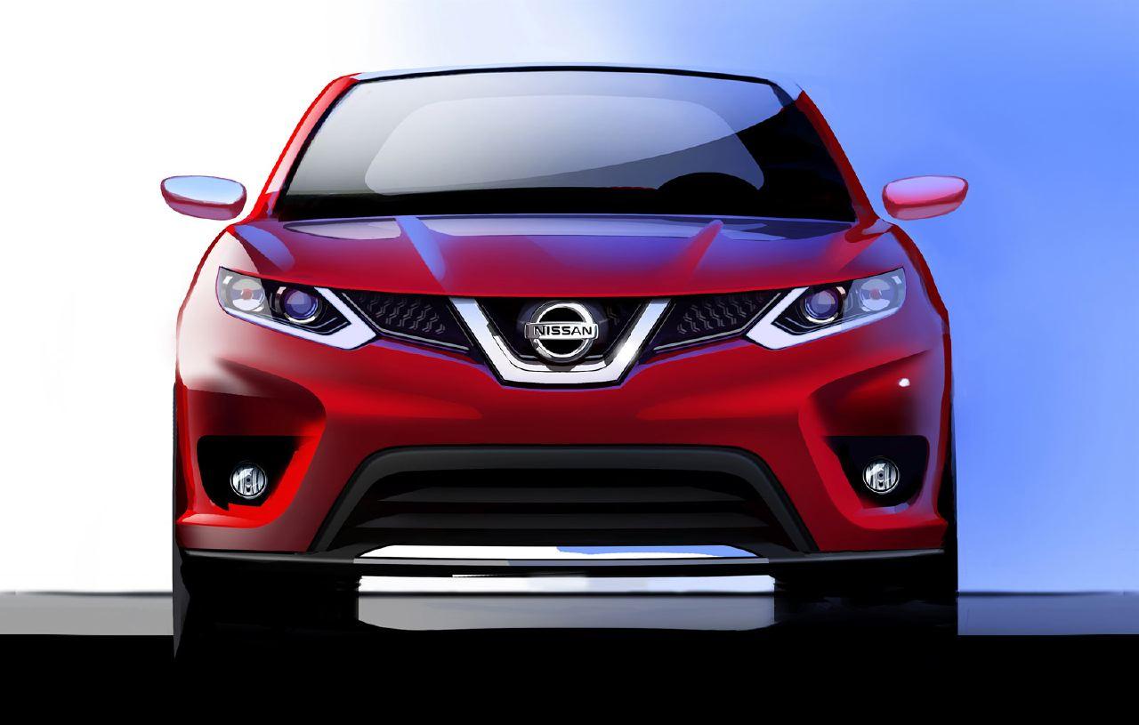 [Présentation] Le design par Nissan / Infiniti Nissan_qashqai_sketch_01