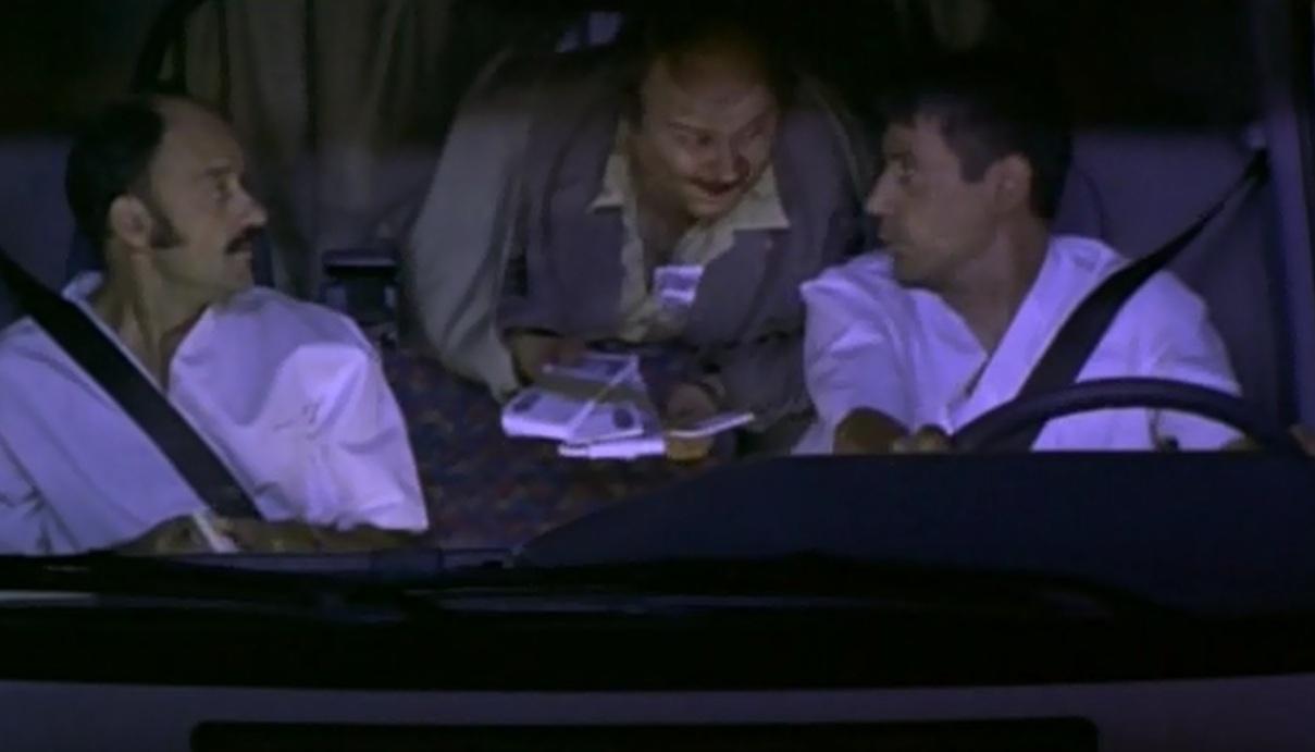 Billetes españoles en películas Torrente