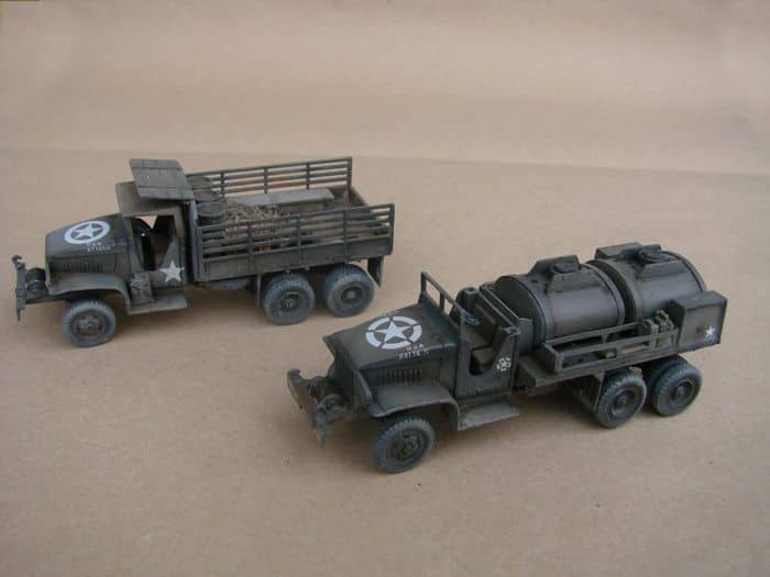 GMC CCKW-353 Fuel & Dump Truck rebuild, 1/72, Hasegawa DSC03033