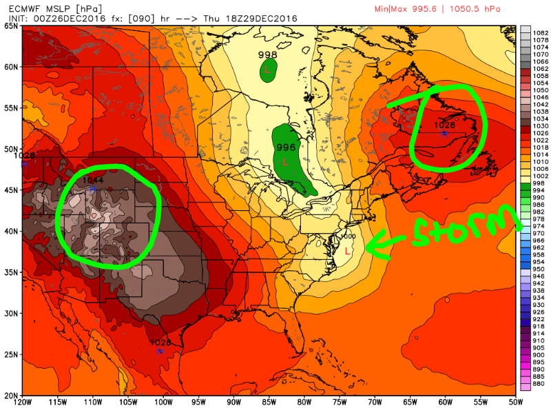 12/29 Potential Snowstorm Update #1  EURO_3