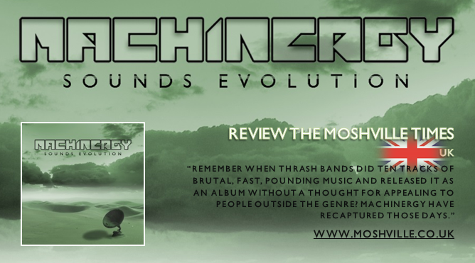 "MACHINERGY ""Sounds Evolution"" 2014 Review_Moshville"
