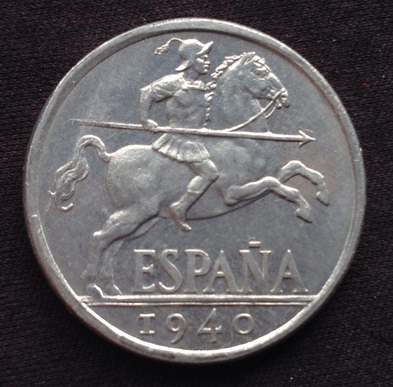10 céntimos 1940 Estado Español Image