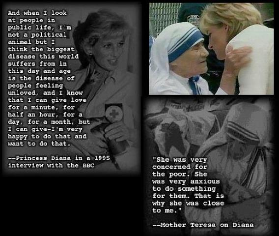English, my love, Anglophones show up here :) Lady_Diana_Mother_Theresa