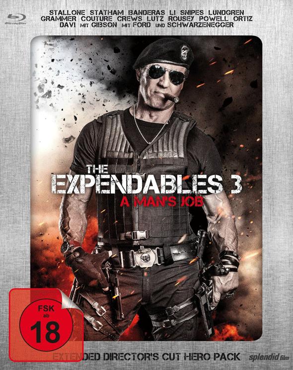 The Expendables 3 (Los Mercenarios 3) 2014 - Página 10 Steel_book2