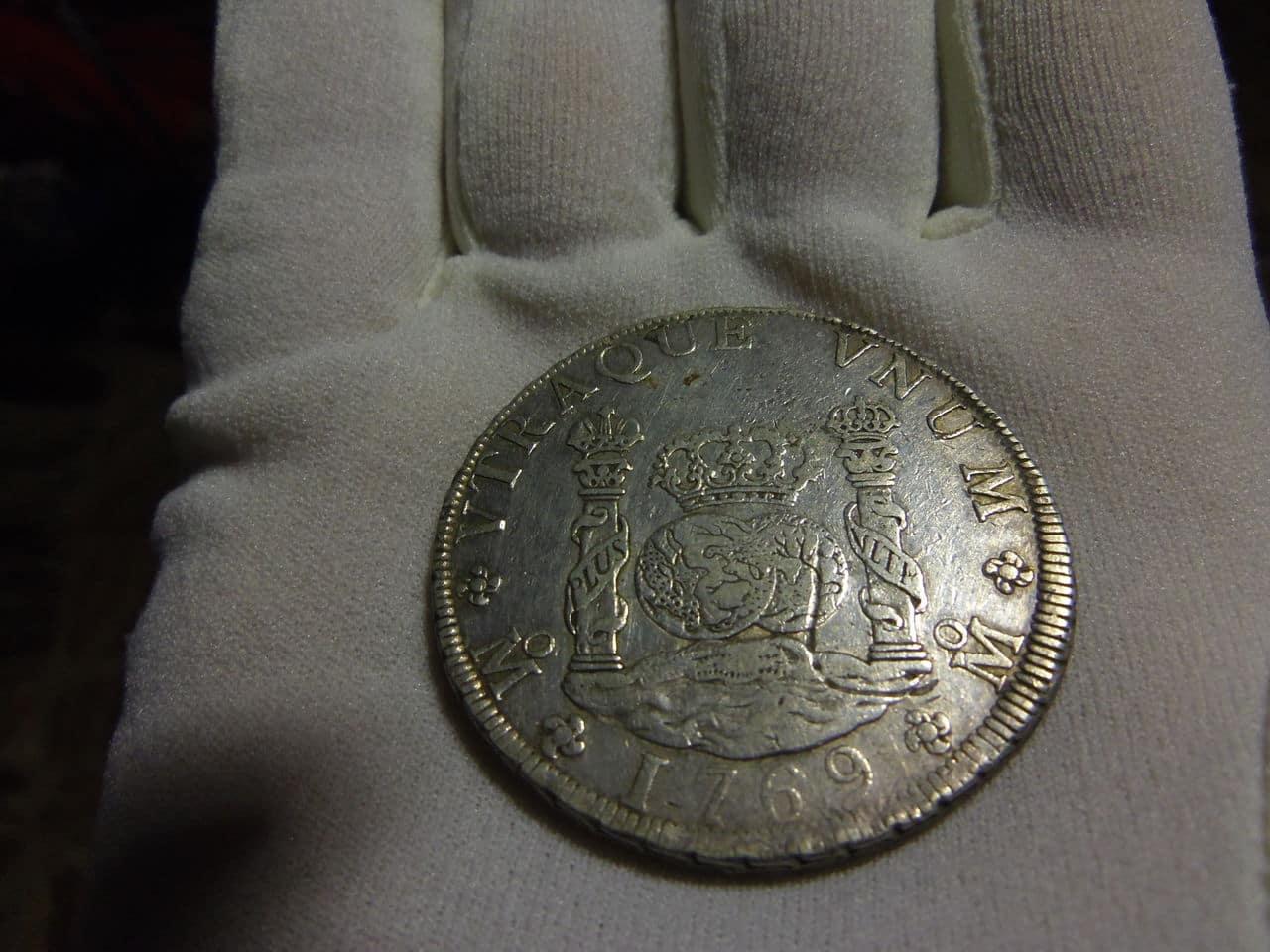 8 Reales Columnario 1769. Carlos III. México IMGP2802