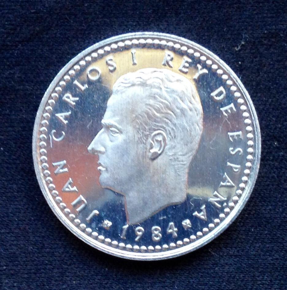 1 peseta 1984 Juan Carlos I Variantes dedit Image