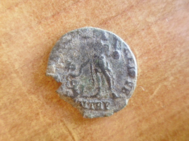 AE2 de Magno Máximo. REPARATIO REI PVB. Trier P1100411