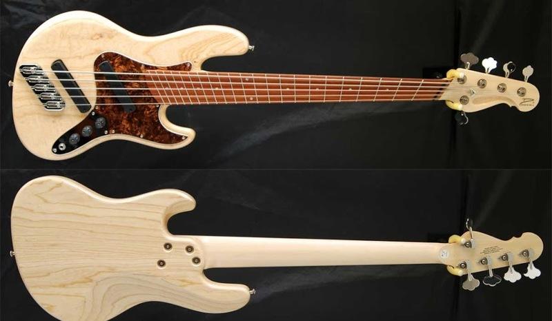 Projeto Jazz Bass 5 cordas M. Laghus Dingwallone