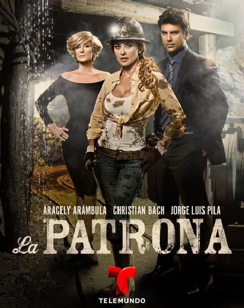 შევაფასოთ სერიალები! - Page 6 La_Patrona_Poster
