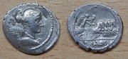La historia oculta tras las monedas Denario_Gens_Carisia