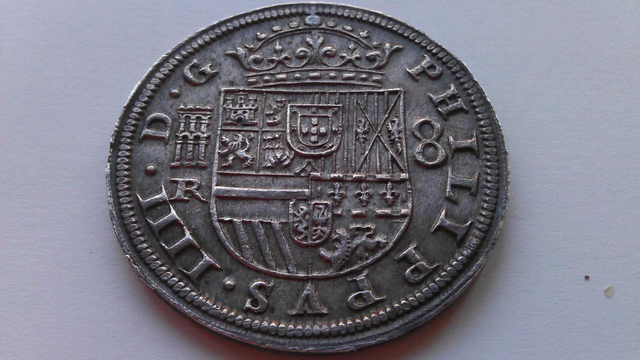 8 reales 1633. Felipe IV. Real Ingenio de Segovia. IMAG1219