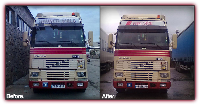 volvo before after