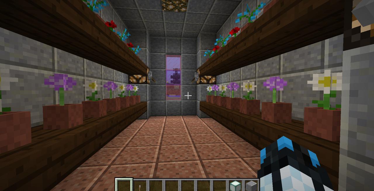 Minecraft Creations Flower_Room_Castle