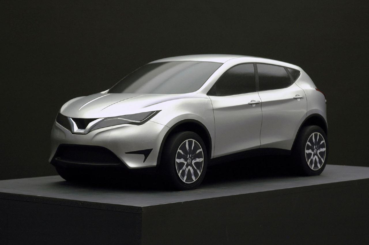 [Présentation] Le design par Nissan / Infiniti Nissan_qashqai_scale_model_01