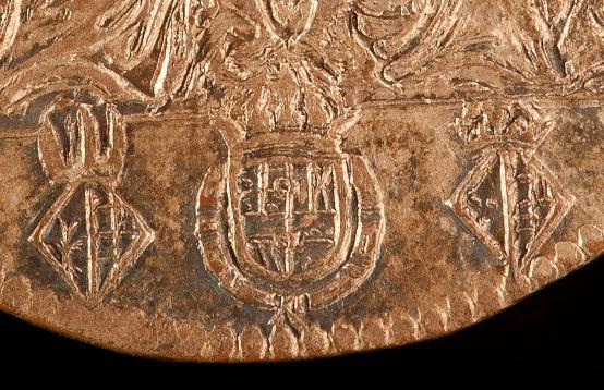 Jetón de Felipe IV. 1664. Amberes. Proyecto de matrimonio de Margarita de España con Leopoldo de Austria. RUG01_001409437_2011_0002_AC_large_2