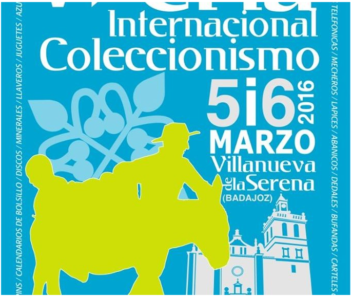 V Feria del Coleccionismo en Villanueva de la Serena (Badajoz). Feria_Villanueva