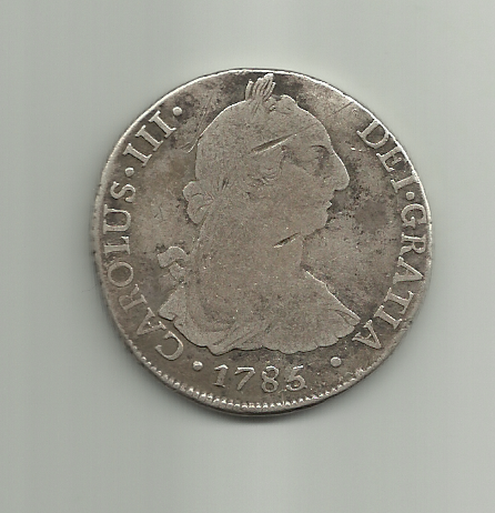 8 reales Carlos III 1785 Potosí 8_reales_1785_Carlos_III_potosi_anver