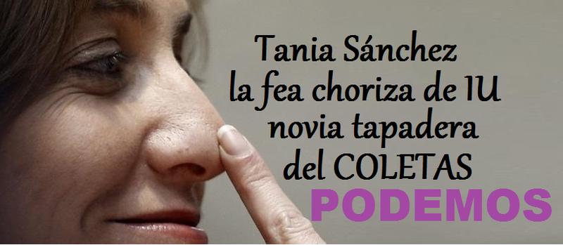 Tania Sánchez sale corriendo de IU para fundar un nuevo partido diossssss que fu Unbena_TANIA