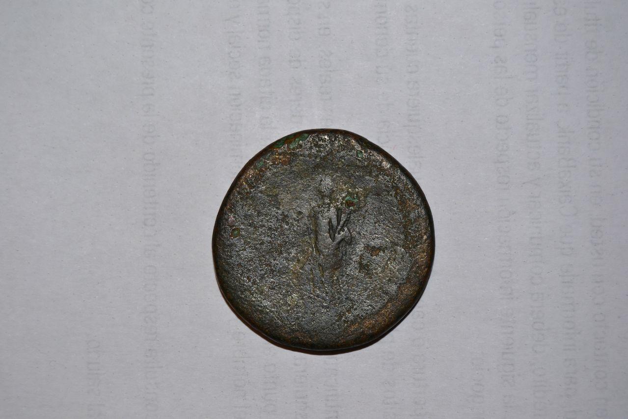 Sestercio de Trajano. DSC_0394