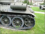 Советский средний танк Т-34-85, производства завода № 112,  Военно-исторический музей, София, Болгария 34_85_055
