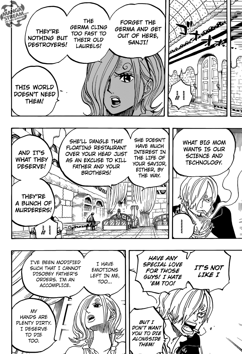 One Piece Chapter 852: Thất bại của Germa  17