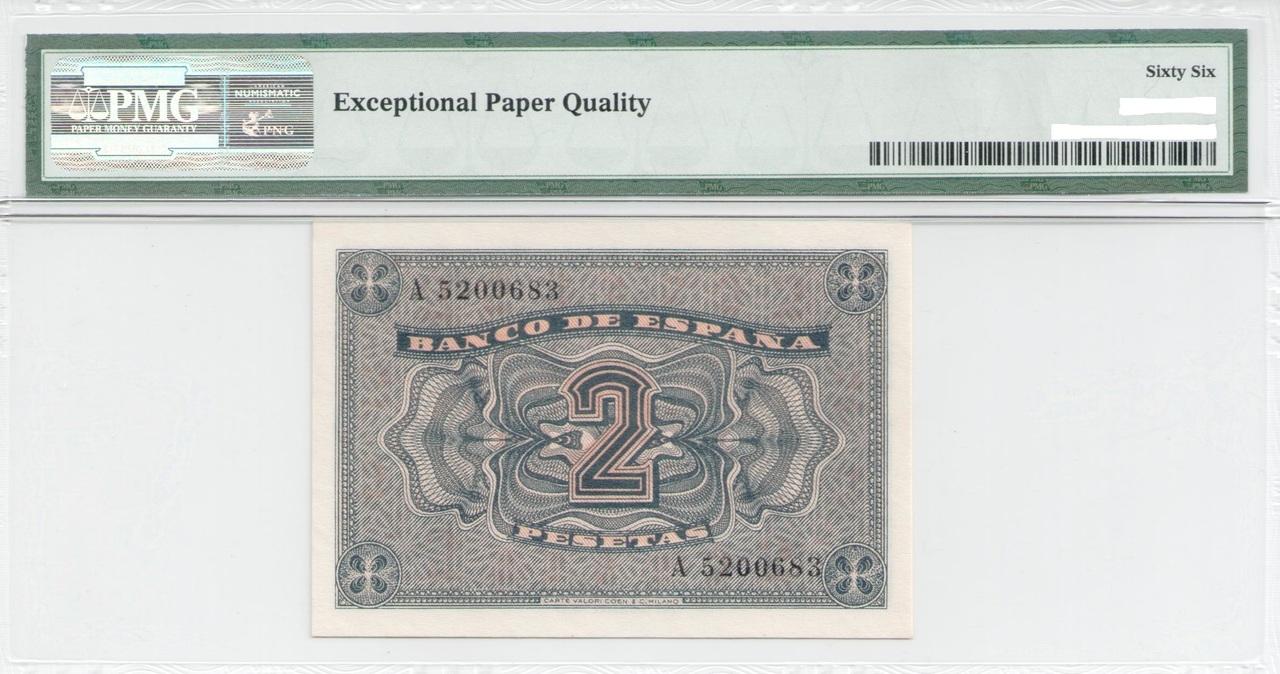 Colección de billetes españoles, sin serie o serie A de Sefcor - Página 3 2_ptas_37_reverso