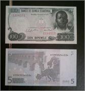 100 Bibkwele Guinea Ecuatorial 1979 (FNMT) Guinea79_100d