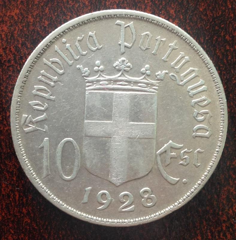 10 Escudos. Portugal. 1928 IMG_1335