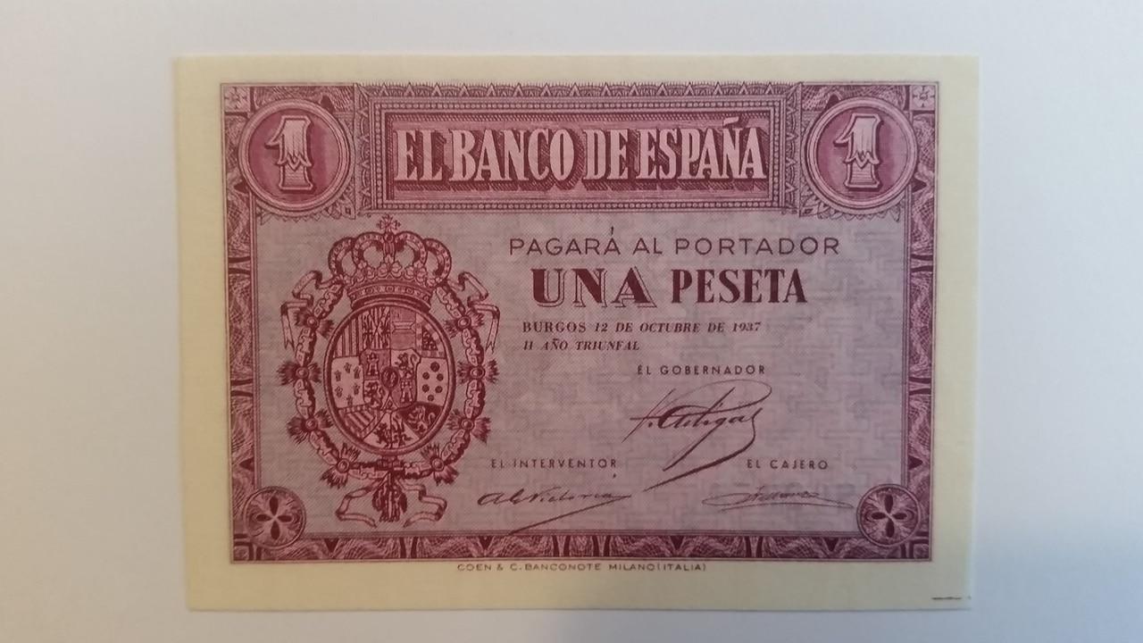 Colección de billetes españoles, sin serie o serie A de Sefcor pendientes de graduar 20161217_114434