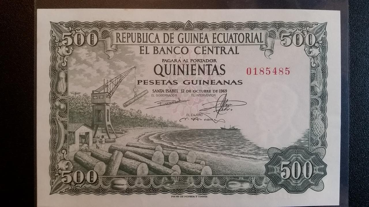 Colección de billetes españoles, sin serie o serie A de Sefcor pendientes de graduar 20161217_120757