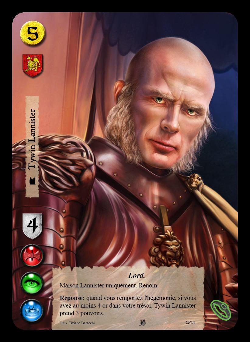 [CF2014] Quelques lots en avant-première Tywin_Lannister