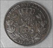 duro belga 1869 Leopoldo II DSCN1070_r