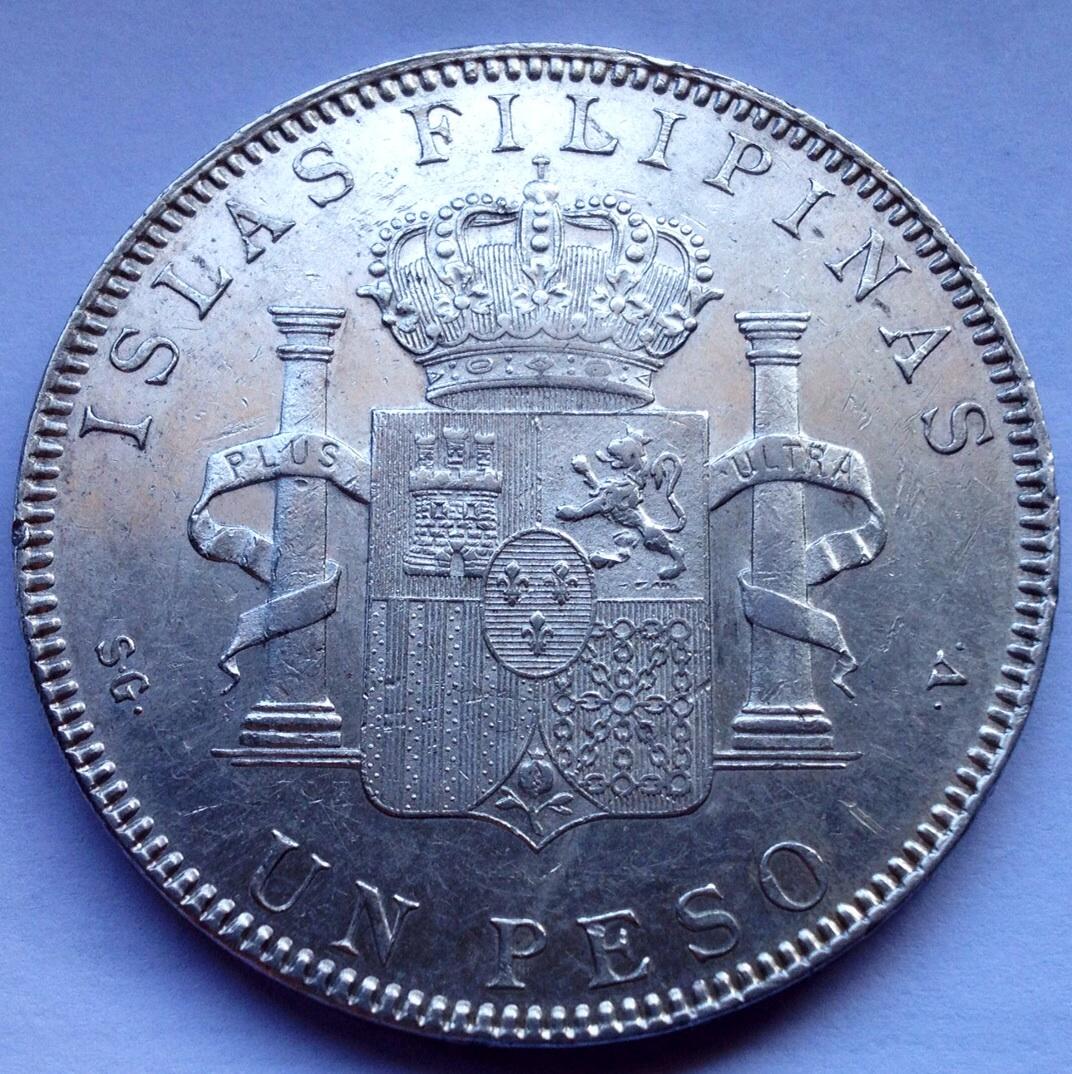 1  peso   1897   SG -v  Filipinas - Página 2 Image