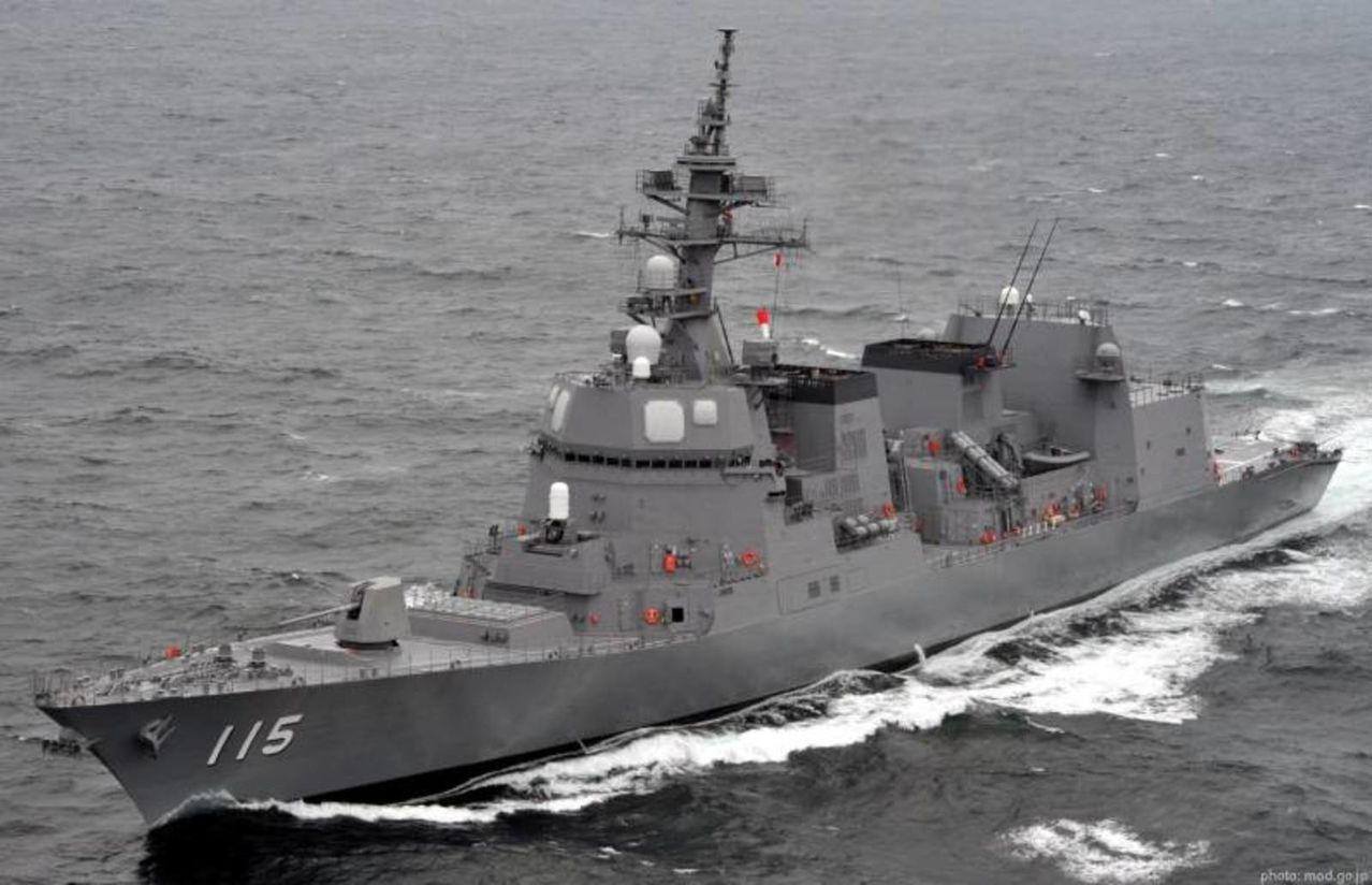 Destructor Clase Akizuki 19DD - Diseño stealth y respaldo a buques Aegis y Portahelos Hyuga AKIZUKICLASSDESTROYER