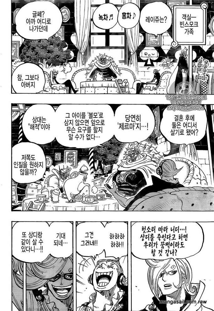 One Piece Chapter 849: Anh Cho trong thế giới gương 2