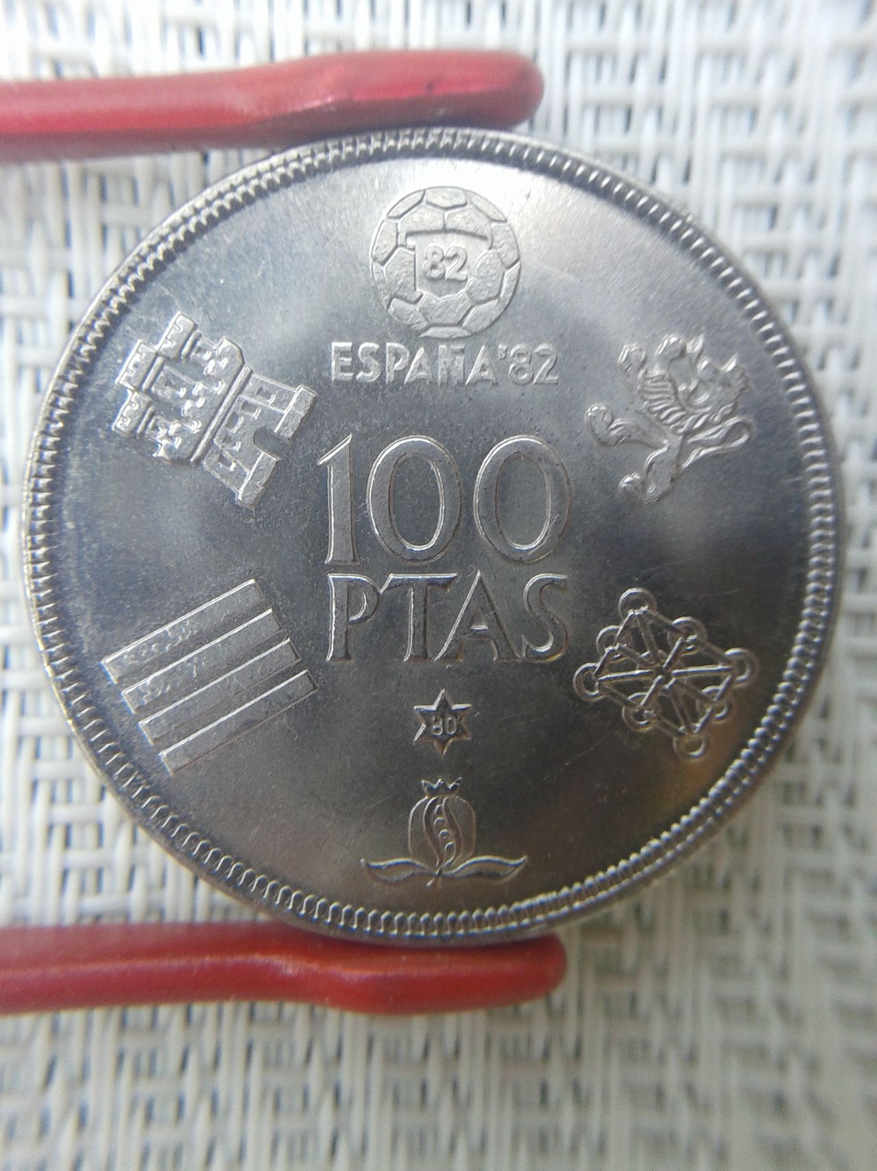 100 pesetas 1980*80 ¿hubo alguna acuñación especial? 100pts_1980_80reverso