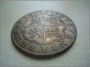 8 Reales 1762 Carlos III Sevilla Image