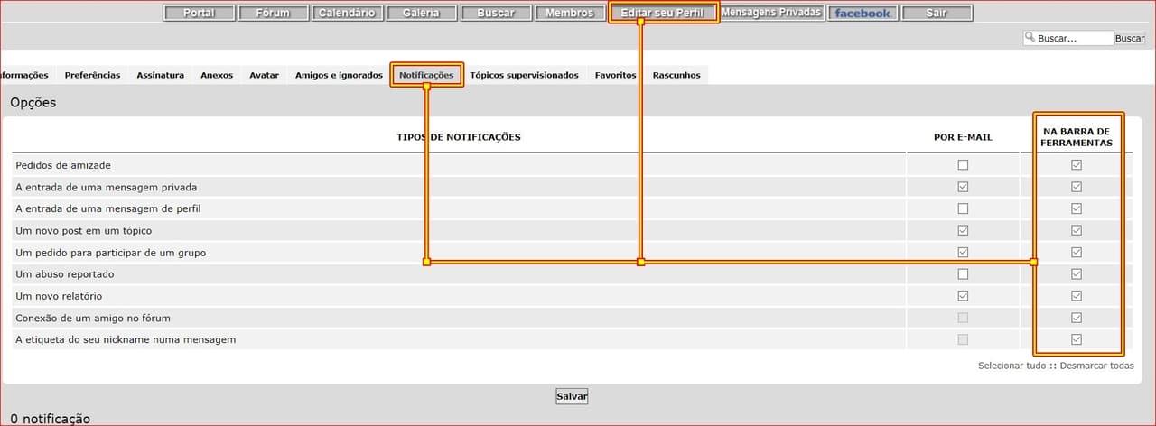 TUTORIAL: Nova Funcionalidade - Marcar e Notificar Usuário NOT_5_D
