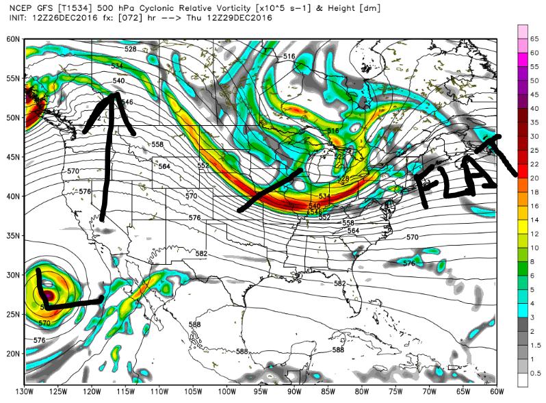 12/29 Potential Snowstorm Update #1  GFS