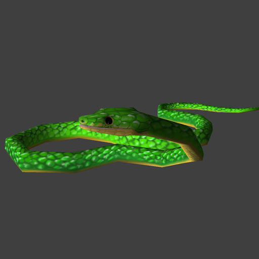 Critter Free to Download, Remake Snake by:Jayse Tree_Snake_Exemple