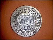 1 Real Felipe V 1734  resello de? 109_001