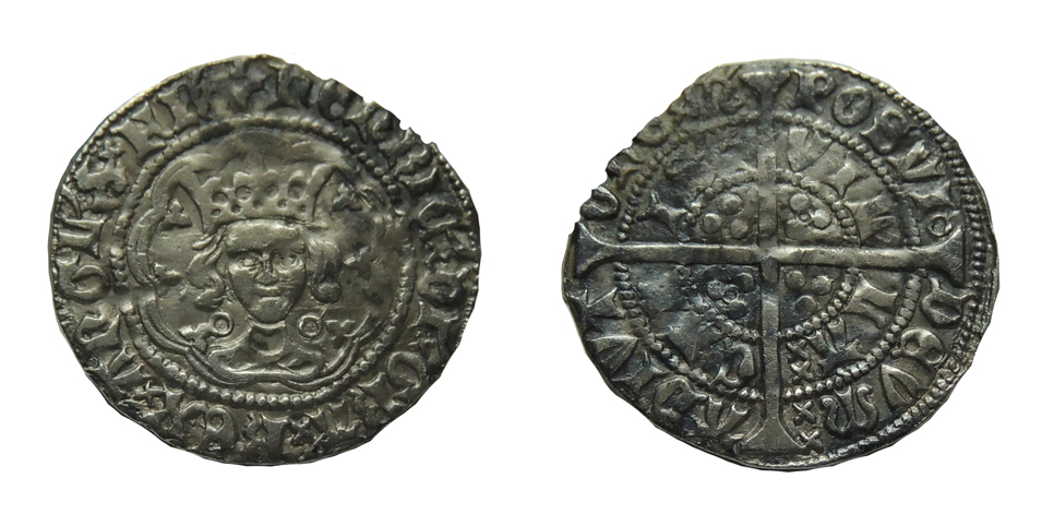 Half groat de Enrique VI Calais_1_7g_21mm