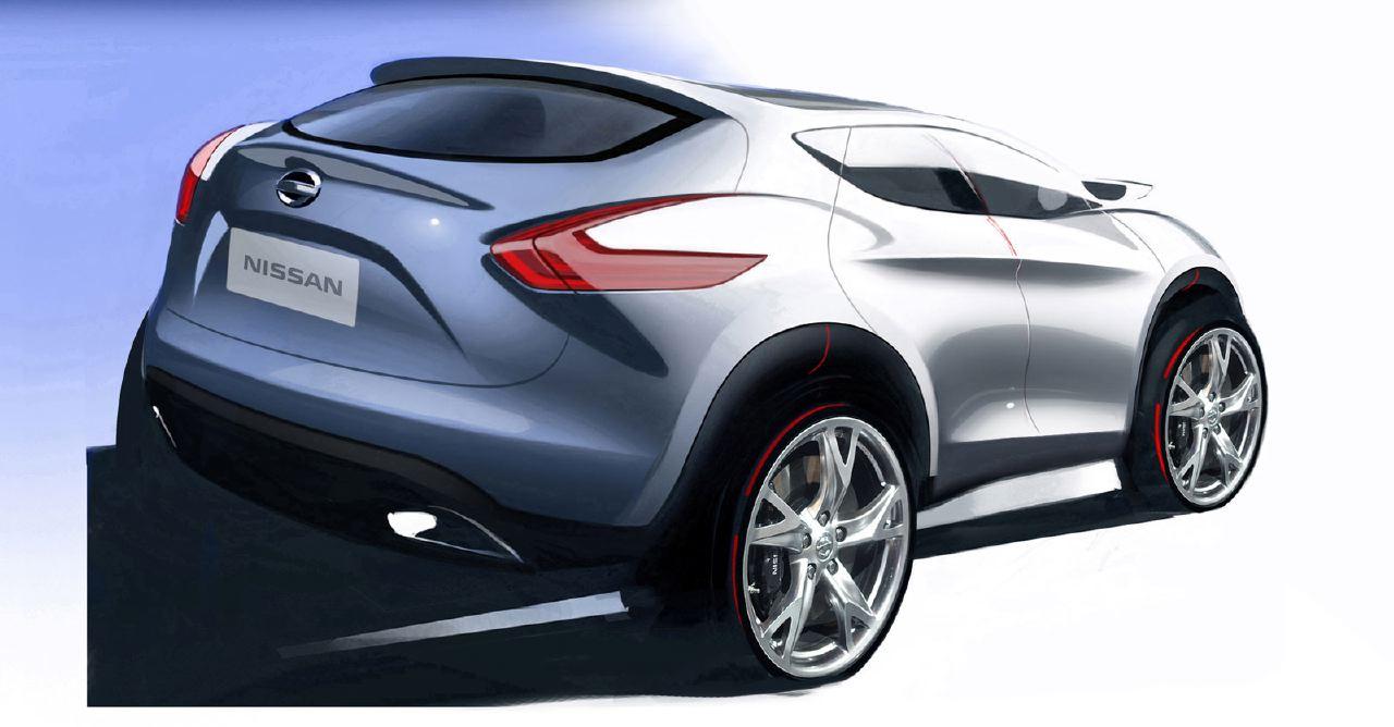 [Présentation] Le design par Nissan / Infiniti Nissan_qashqai_sketch_09
