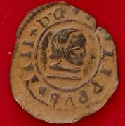 16 Maravedis Felipe IV Granada (Falsa de epoca) CIMG6139